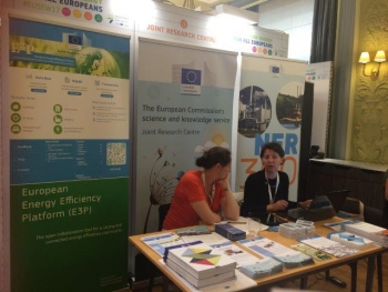 JRC stand at the EUSEW17
