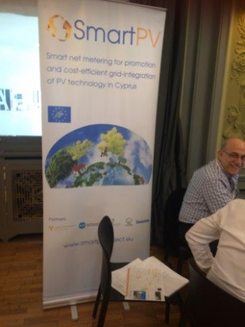 Networking with other LIFE project- SmartPV from Cyprus
