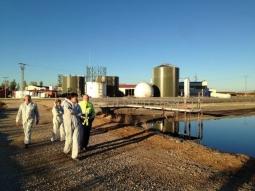 Recorrido por las instalaciones de PURAL en Almazán