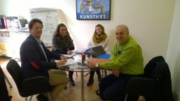 Reunión de seguimiento en Barcelona