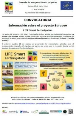Invitación a la charla informativa e inauguración en Soria