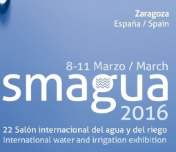 Presentes en la Feria SMAGUA 2016 en Zaragoza