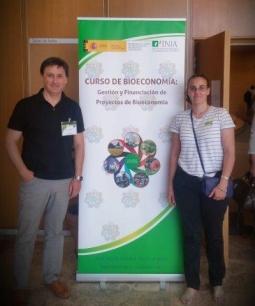 Asistencia al Curso de Bioeconomía en Madrid