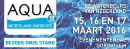 Presentes en la feria sobre temas de Agua en Los Países Bajos - Aqua Nederland Trade Fair 2016