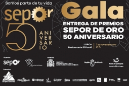 Attending the 50 aniversary of SEPOR Fair in Murcia