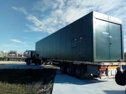 Dryer successfully moved to new trial location