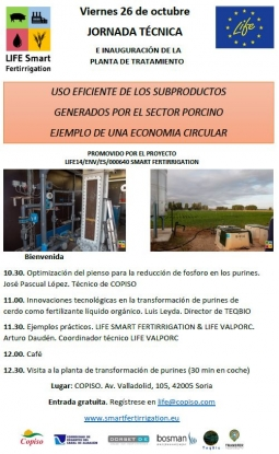 Invitation to the technical seminar and inauguration event at COPISO: