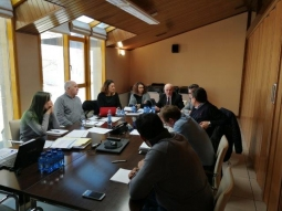 Sixth official meeting of the consortium in Soria