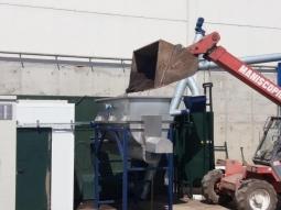 Start-up of drying equipment