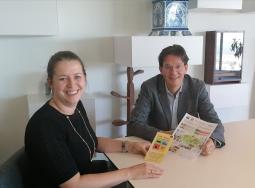Interés en el programa LIFE Smart Fertirrigation del nuevo Ministro de Agricultura, Embajada de los Países Bajos