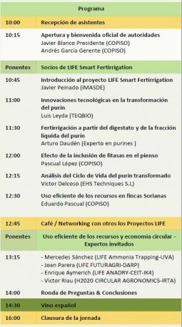 Invitación a la Conferencia Final
