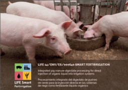 Europe focuses on the LIFE Smart Fertirrigation project.